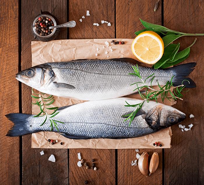თევზის ნახევარფაბრიკატები